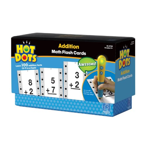 Educational Insights Hot Dots Math Flash Cards Addition - 1
