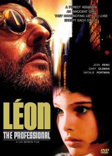Leon: The Professional (1994) Jean Reno, Gary Oldman, Natalie Portman 【海外版】