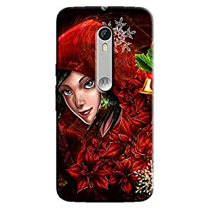 CLOWN GIRL BACK COVER FOR MOTOROLA MOTO X3