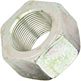 Steel Hex Nut, Ultra Coated Finish, Grade 8, Right Hand Threads, Meets ASME B18.2.2, Inch