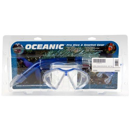 Oceanic coral scuba dive mask snorkel set - Oceanic dive equipment ...