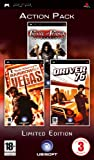 Triple Pack: Prince Of Persia: Revelations, Driver '76 and Rainbow Six Vegas (PSP)