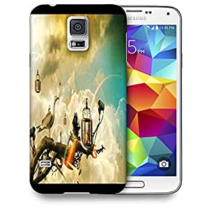 Snoogg Creative Wallpaper Ideas Printed Protective Phone Back Case Cover For Samsung S5 / S IIIII
