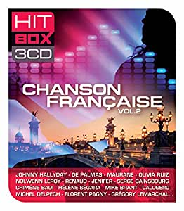 Hit box 3CD Chansons françaises volume 2