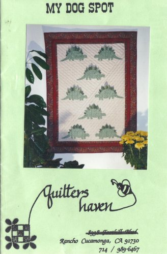 My Dog Spot - Dinosaur Quilt Pattern from Quilters Haven
