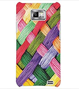 PrintDhaba Pattern D-5170 Back Case Cover for SAMSUNG GALAXY S2 (Multi-Coloured)