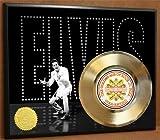 Elvis Presley LTD Edition Poster Art Gold Record Music Memorabilia Display