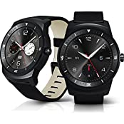 LG G Watch R Androidwear Black Dial Smartwatch LG LG-W110