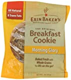 Erin Bakers Breakfast Cookie Morning Glory, 3-Ounce Individually Wrapped Cookies (Pack of 12)