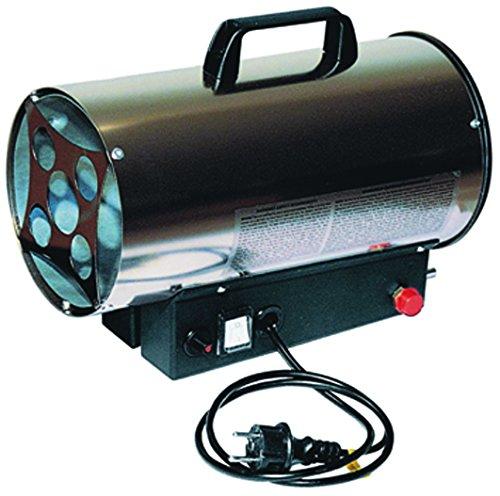 Vigor Blinky 10F-KW-IT Generatore Aria Calda, Inox