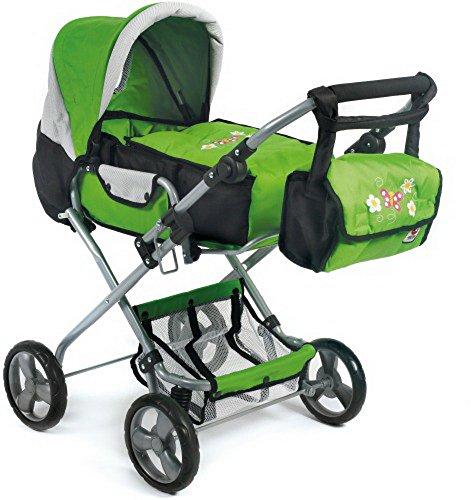 Kombi-Puppenwagen Bambina grün, 80 cm, 1 Stück