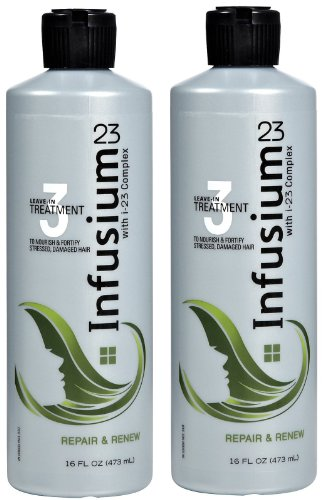 Infusium 23 Leave-in Treatment, with i-23 Complex, Repair & Renew, 16 fl oz (473 ml) (Pack of 2)