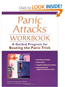 Panic Attacks Workbook: A Guided Program for Beating the Panic Trick [Paperback]