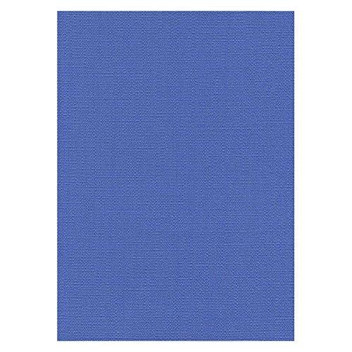 Stoffe - Polsterstoffe - Möbelstoffe - Meterware - Sitzbezug - Riva CS - Trevira CS - Uni - Blau - MUSTER