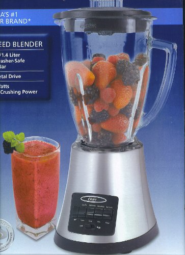 Oster 8 Speed 6 Cup Ice Crushing Blender with Glass Jar