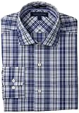 Tommy Hilfiger Mens Regular Fit Non Iron Plaid