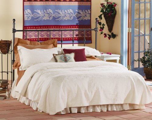 Pendleton Over-All Matelasse Natural Twin Coverlet front-921927
