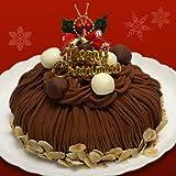 クリスマスケーキ2012年(生チョコレートモンブラン)