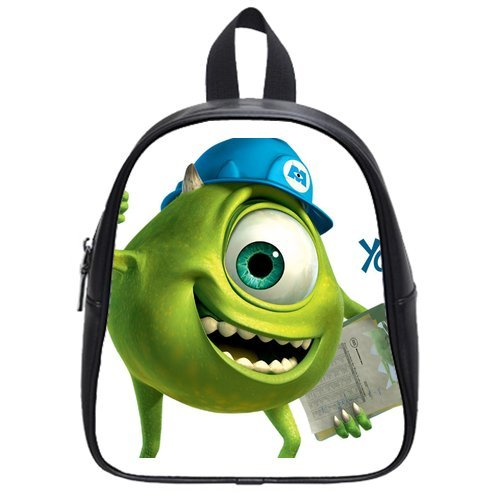 Monsters Inc High-Grade Pu Leather School Bag/Backpack(Small) front-227170