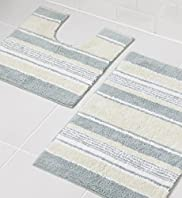 Delta Stripe Bath & Pedestal Mats