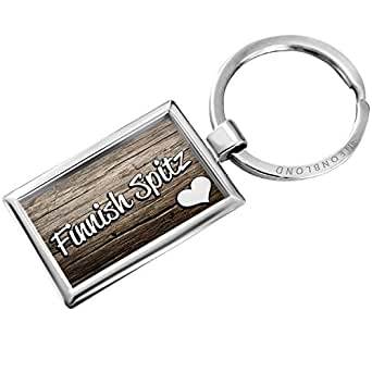 Amazon.com: Keychain Finnish Spitz, Dog Breed Finland