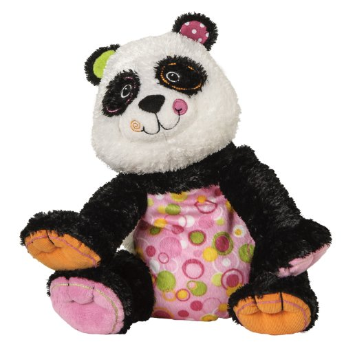 "Mary Meyer Cheery Cheeks Paprika Panda 12"" Plush front-327893"