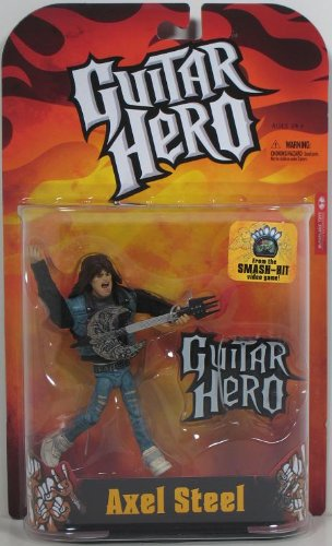 guitar hero action figure series 1 axel steel