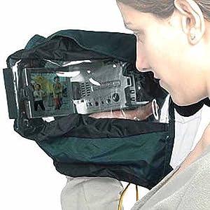 Kata CRC-18 Compact Rain Cover fits Mini-DV and Hi-8 camcorders.