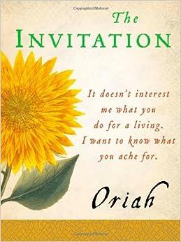 Oriah Invitation with perfect invitation layout