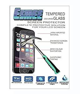 ESMEE Tempered Glass Screen Protector For Micromax A65 Bolt - Pack Of 2