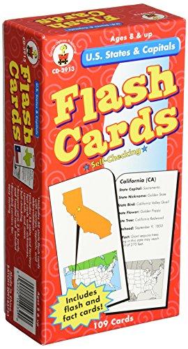 Carson-Dellosa Publishing U.S States and Capitals - 1
