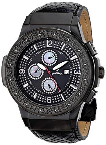 JBW Reloj Saxon Negro Única