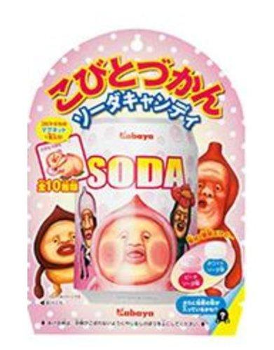カバヤ こびとづかん ソーダキャンディ 60g×6袋