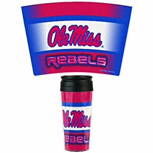 Buy NCAA Mississippi Rebels 16-Ounce Travel Mug by WinCraft
