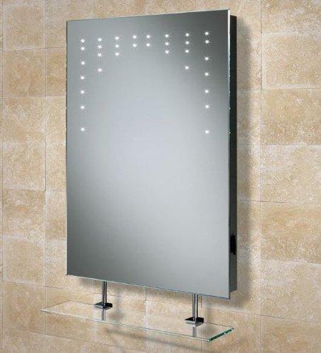 Amazing xmm Rain Illuminated Demistable Bathroom Mirror with shaver socket