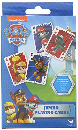 Nickelodeon Paw Patrol Jumbo Playing Cards - 1
