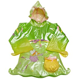Kidorable Toddler/Little Kid Fairy Rain Coat