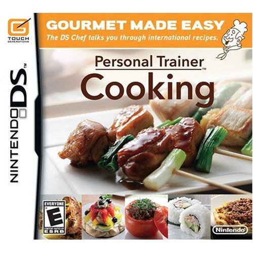 Personal Trainer:  Cooking - Nintendo DS - 1