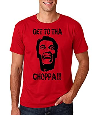 AW Fashion's Get to tha Choppa!!! Arnold famous funny movie tee Premium Men's T-Shirt