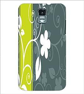 PRINTSWAG FLOWER Designer Back Cover Case for SAMSUNG GALXAY S5