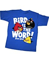 Angry Birds: Bird is the Word Royal Youth T Shirt