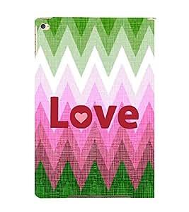 EPICCASE love Mobile Back Case Cover For Apple Ipad Air (Designer Case)