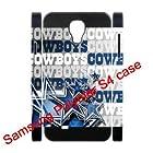 Dual-Protective Polymer Samsung Galaxy S4/S IV/SIV 3D hard back cover NFL Dallas Cowboys team logo-fits for Samsung Galaxy S4 C Spire SCH-R970X/ Verizon SCH-I545/ Metro PCS SGH-M919N/AT&T SGH-I337/ T-Mobile SGH-M919/ U.S. Cellular SCH-R970/ Sprint SPH-L720/ Cricket SCH-R970C