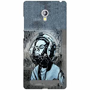 Asus Zenfone 6 A601CG Back Cover - Music Designer Cases