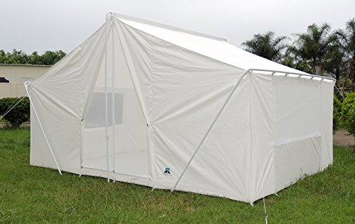 Pinnacle Tents Canvas Cabin Tent White 10 215 14 Best