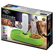 PET DOG CAT FOOD FEEDING AND WATER STATION