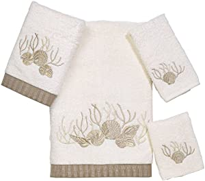 Avanti Linens Avanti Premier Sunset Beach 4-Piece Towel Set, Ivory at Sears.com