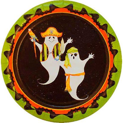 Pirate Ghosts Dessert Plates 8ct