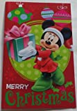 Greeting Card Christmas Disney Minnie Mouse Merry Christmas