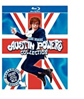 Austin Powers Collection International Man Of Mystery The Spy Who Shagged Me Goldmember Blu-ray by New Line Home Video